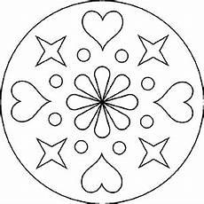 Ausmalbild Herz Blume Popular Images Mandala Herz Und