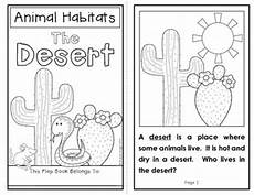 animals habits worksheets 13897 animal habitats the desert a flap book project for grades 1 2