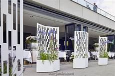 brise vue design jardin elmas 160 brise vue design sur roues en acier jardinire