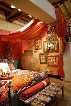 Orientalische Gardinen Haengend Decke Bett B 246 Hmische