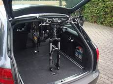 bild 1 fahrrad ohne fahrradhalter im auto transportieren