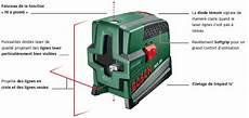 bosch niveau laser en croix pcl 20 avec tr 233 pied et support