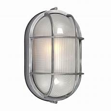 shop galaxy marine 11 125 in h satin aluminum outdoor wall light at lowes com