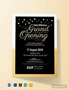 birthday card template open office free opening ceremony invitation card template