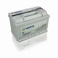 varta autobatterie silver dynamic e38 74ah