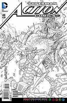 Comic Malvorlagen Coloring Book Variant Covers Coming From Dc Comics