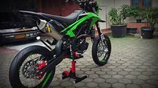 Modifikasi Supermoto by Modifikasi Harian Kawasaki Dtracker Bf Se 150 Quot Special