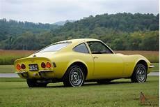 1970 Opel Gt Original Ca Car 3rd Owner Auto