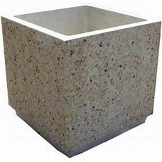 bac a fleur beton jardiniere rectangulaire beton