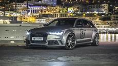 audi a6 rs6 avant gets wide kit and engine tuning