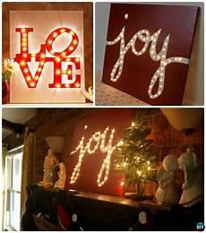 diy string light backlit canvas art ideas crafts intentional interior diy christmas art