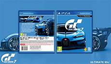 gran turismo 7 playstation 4 box cover by ultimate ssj