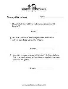 money word problems worksheet free printable educational worksheet