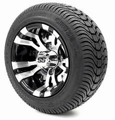 Golf Cart Wheels And Tires Combo 10 Quot Ss W Low