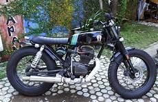 Modifikasi Gl 100 by Galeri Foto Modifikasi Motor Honda Gl 100 Terbaru Modif
