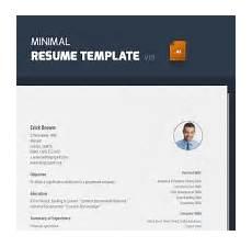 print ready resume template