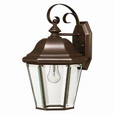 bronze finish outdoor wall light outdoor wall light with clear glass in copper bronze