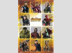 New Infinity War Posters Spotlight Avengers And Thanos