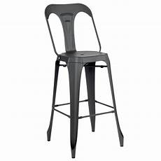 chaise haute moderne chaise de bar en m 233 tal mackay au design industrielle des