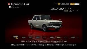 Nissan SKYLINE 1500Deluxe S50D 1 63  Gran Turismo Wiki