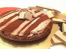 torta con i wafer torta wafer e panna alice dolce vaniglia
