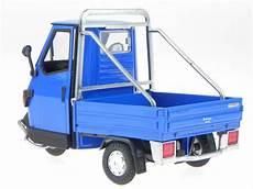 piaggio ape cross 50 blue metall modell 68035 newray 1 18