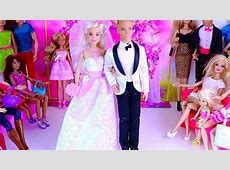 Barbie and Ken Wedding Day Party   Playtoys