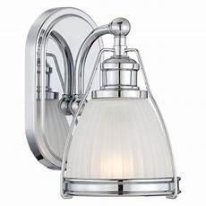 minka lavery 5791 77 chrome 1 light 9 quot height bathroom sconce lightingdirect com