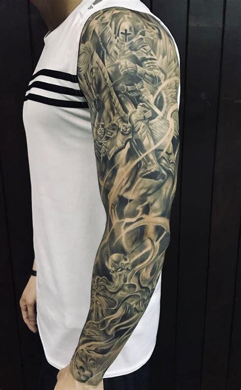 Evil And Angel Tattoo