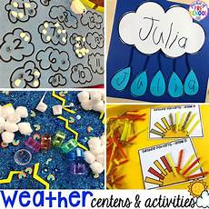 weather activities and centers pocket of preschool