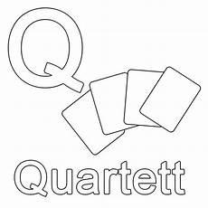 Ausmalbilder Buchstaben Lernen Ausmalbild Buchstaben Lernen Q Wie Quartett Kostenlos
