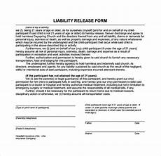sle liability release form exles 9 download free documents in pdf word