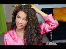 how to style curly hair curly hair routine youtube