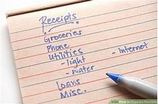 how to organize receipts 7 steps with pictures wikihow