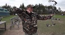 proper shooting form is key for increasing accuracy with a bow video