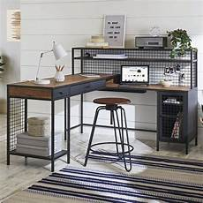 better homes and gardens office furniture better homes gardens lindon place l shaped desk