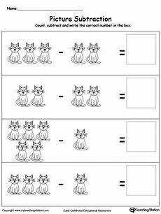subtraction worksheets beginners 10007 beginning subtraction using pictures 1 to 5 imagens atividades de alfabetiza 231 227 o