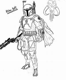 Pictures To Colour Wars Wars Boba Fett Coloring Pages Coloring Home