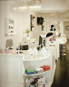 nail salon manicure bar interior design idea in