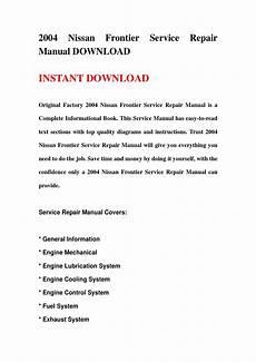 motor repair manual 2004 nissan frontier free book repair manuals 2004 nissan frontier service repair manual download by jjshenfmm njhnsne issuu