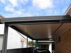 carport aluminium flachdach carports alpha industries