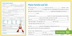 german comprehension worksheets 19615 my family and me reading comprehension worksheet worksheet german