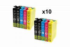 Epson 18xl Noir Et Couleur Lot De 10 Cartouches Encre