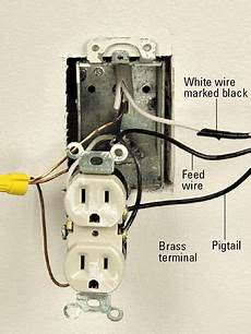 installing a switched receptacle how to install a new electrical fixture home residential