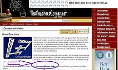 esl librarian fast and easy crossword generator theteacherscorner net