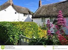cottage in cornovaglia cottage tetto thatched cornovaglia inghilterra regno
