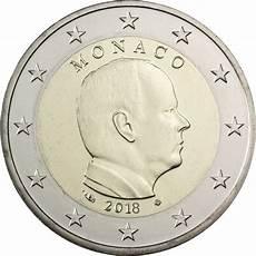 2 euros monaco albert 2018