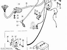 yamaha yg1 wiring diagram yamaha yg1 trailmaster 80 1964 usa parts list partsmanual partsfiche