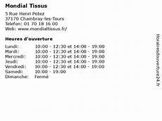 ᐅ Mondial Tissus Horaires D Ouverture 5 Rue Henri