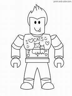Malvorlagen Topmodel Roblox Roblox Coloring Pages Character Koltery85 Dejanato